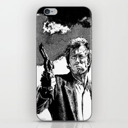 Dirty Harry / Clint Eastwood iPhone Skin