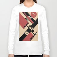 bauhaus Long Sleeve T-shirts featuring Bauhaus by Disfigured Circumstance