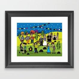 Arraiá da Roça Framed Art Print