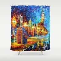 fandom Shower Curtains featuring Sherlock and Big ben starry the night iPhone 4 4s 5 5c 6, pillow case, mugs and tshirt by Three Second