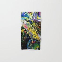 Acrylic Fluid Pour Art Hand & Bath Towel