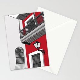 Balcony, Old San Juan, Puerto Rico Stationery Cards