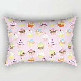 Sweet Cakes Pattern Rectangular Pillow