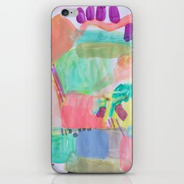 Coral Water iPhone Skin