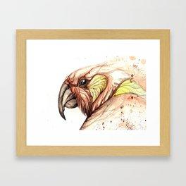Cheeky Kea Framed Art Print