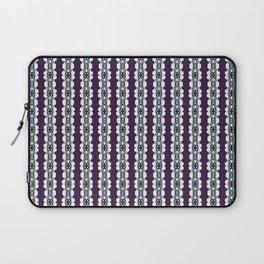 Purple Decorative Pattern Laptop Sleeve