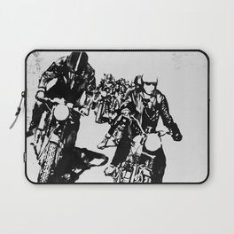 The Horde Motorcycle Art Print Laptop Sleeve