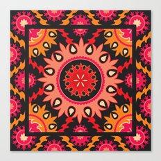 Ethnic asian ornament Canvas Print