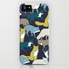 Think Outside the Fox iPhone Case