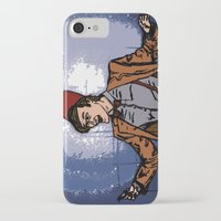 fez iPhone & iPod Cases featuring ain't never gonna do it without the fez on by Melvin Pena