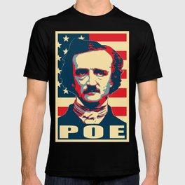 Edgar Allan Poe America Pop Art T-shirt