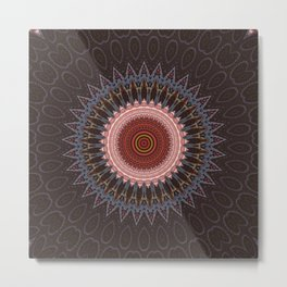 Some Other Mandala 613 Metal Print
