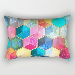 Magic cubes Rectangular Pillow