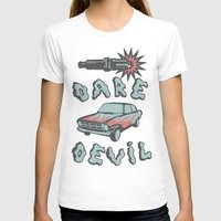 daredevil T-shirts featuring DareDevil by NickTheGreek