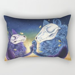 Day of the death Rectangular Pillow