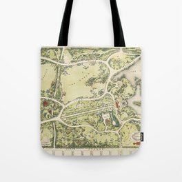 Strolling through history Tote Bag