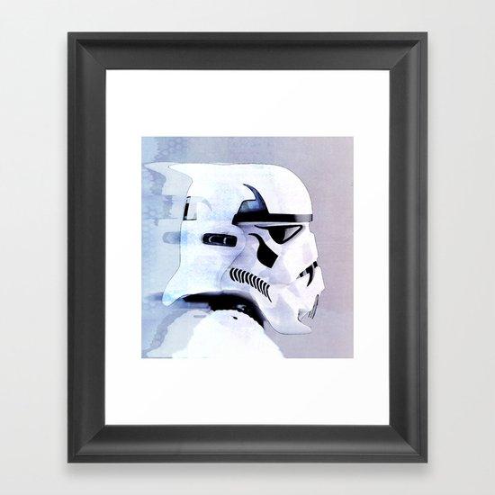 vampire trooper Framed Art Print