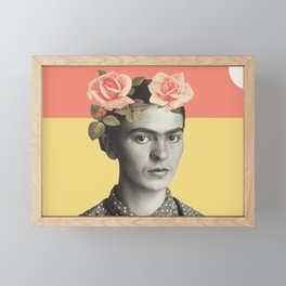 Frida. Framed Mini Art Print