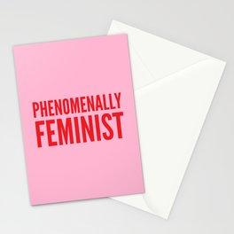 Phenomenally Feminist (Pink) Stationery Cards