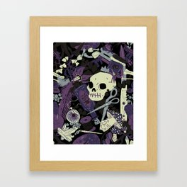 Witchy (Poisonous Variant) Framed Art Print