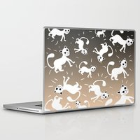 kittens Laptop & iPad Skins featuring kittens by Seefirefly