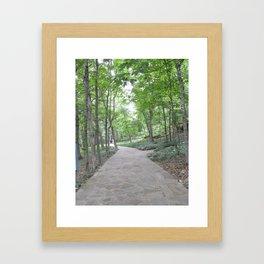 Path to Chapel Framed Art Print