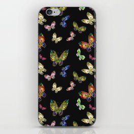 Pattern Buttefly iPhone Skin