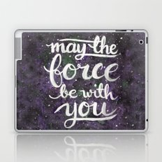 The Force - Violet Laptop & iPad Skin