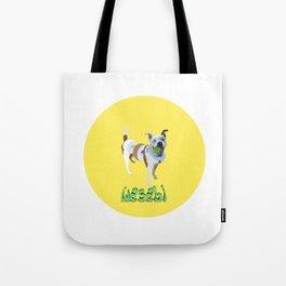 sushi dog Tote Bag