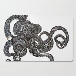 Barnacle Octopus Cutting Board