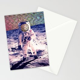 Space Static Stationery Cards