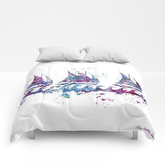 Little boats Comforters