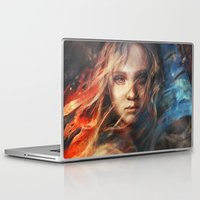 bag Laptop & iPad Skins featuring Do You Hear the People Sing? by Alice X. Zhang