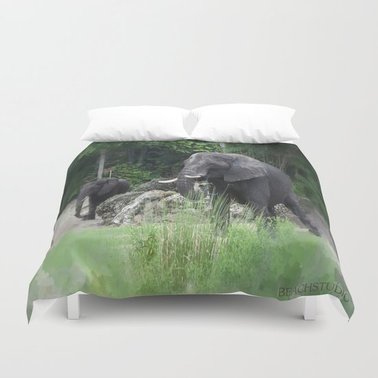 Elephant One Duvet Cover