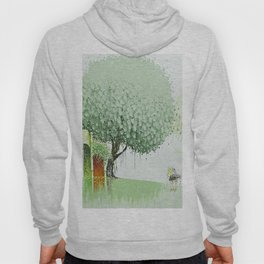 By The River-Green Hoody