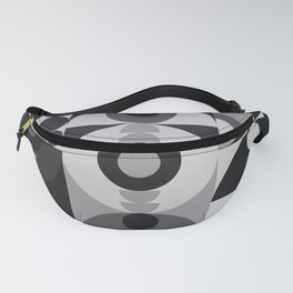 Geometry Games V / Black Palette Fanny Pack