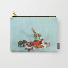 Grandma's Animals Carry-All Pouch