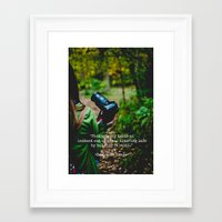 photographer Framed Art Prints featuring Photographer by Jo Bekah Photography