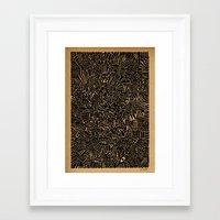arya Framed Art Prints featuring - 1986 - by Magdalla Del Fresto