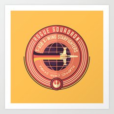 Rogue Squadron Art Print