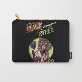 About love and circus - the lion and the tamer Carry-All Pouch