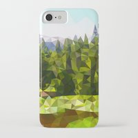 forrest iPhone & iPod Cases featuring Forest Green by IvanaW