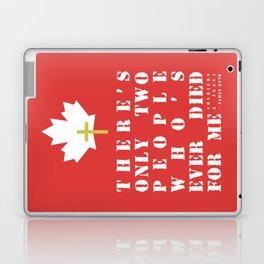 Soldiers & Jesus Laptop & iPad Skin