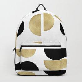 Yin Yang Geometric Glam #1 #minimal #decor #art #society6 Backpack