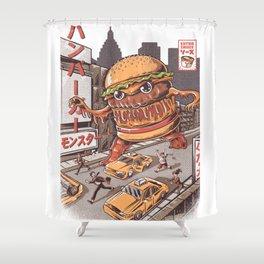 Burgerzilla Shower Curtain