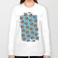 concert Long Sleeve T-shirts featuring leaf opera concert by Indigo Images
