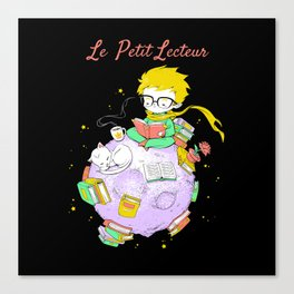 Le Petit Lecteur - The Little Reader Canvas Print