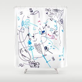 Composizione I Shower Curtain