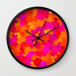 Celluloid Sunset Wall Clock