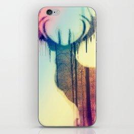 Deer colorful iPhone Skin